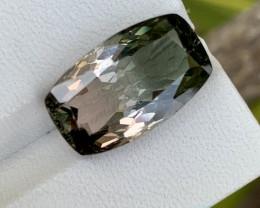 9.75 carat bi color Tourmaline gemstone.