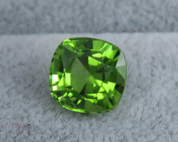 IF 5.10 CT Natural Beautiful Green Color Cushion Oval Shape Peridot From Pa