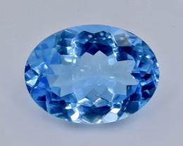 16.61 Crt Natural  Topaz Faceted Gemstone.( AB 25)