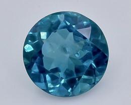 3.00 Crt Natural  Topaz Faceted Gemstone.( AB 25)