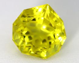 Quartz 9.25Ct VVS Design Pear Cut Natural Lemon Quartz A1613