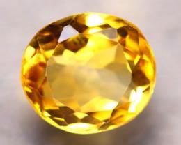 Citrine 3.10Ct Natural VVS Golden Yellow Color Citrine E1401/A2