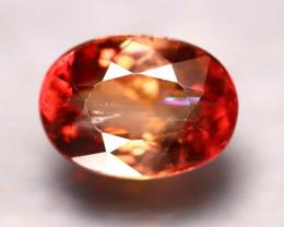 Tourmaline 4.04Ct Natural Orangey Red Color Tourmaline E1417/B17