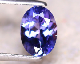 Tanzanite 1.40Ct Natural VVS Purplish Blue Tanzanite E1418/A45