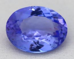 1.92Ct VVS Oval Cut Natural Purplish Blue Tanzanite C1512