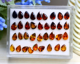 11.14Ct Pear Cut Natural Mozambique Fancy Color Tourmaline C1537