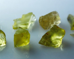 NR!!! 17.10 Cts Natural & Unheated~ Yellow Heliodor Rough Lot