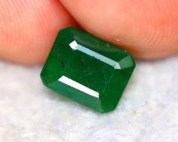 Emerald 1.92Ct Natural Zambia Green Emerald D1513/A38