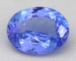 1.98Ct VVS Oval Cut Natural Purplish Blue Tanzanite B1720