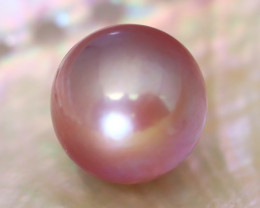13.9mm 19.46Ct Natural Australian South Sea Purple Color Pearl C1813