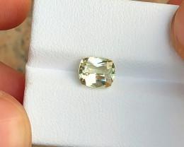 1.65 Ct Natural Golden Yellow Transparent Tourmaline Gemstone