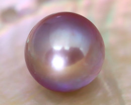 12.3mm 13.05Ct Natural Australian South Sea Purple Color Pearl C1825