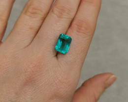 6,41ct  Colombian Natural Emerald Ref 8/21A Colombian Emerald natural emera