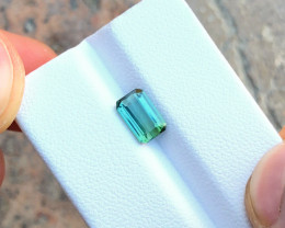 1.25 Ct Natural Blueish Transparent Tourmaline Gemstone