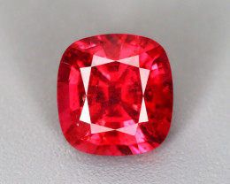 1.365 CT SPINEL PIGEON BLOOD RED 100% NATURAL UNHEATED BURMESE