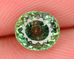 Great Luster 1.05 ct Green Apatite ~ K