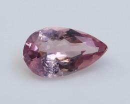 NR!!! 1.40 Cts Natural & Unheated~ Pink Morganite Gemstone
