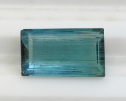 NR!!! 1.90 Cts Natural & Unheated~ Greenish Blue Tourmaline Gemstone