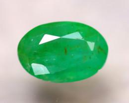 Emerald 1.80Ct Natural Zambia Green Emerald D1714/A38
