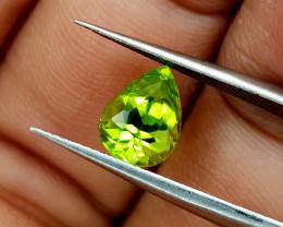 1.65Crt Peridot Pakistan Natural Gemstones JI34