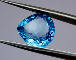 6.55Crt Blue Topaz Natural Gemstones JI34
