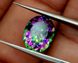 2.35Crt Mystic Quartz Natural Gemstones JI34