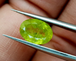 1.98Crt Rutile Sphene Color change Natural Gemstones JI34