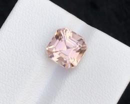 Perfect Asscher Cut 3.15 Ct Natural  Tourmaline Gemstone