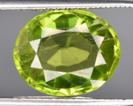 Top 5.02 CTS Beautiful Green Peridot Gem