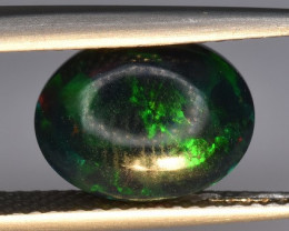2.04 CTS Top Welo Fire Black Opal Cabochon