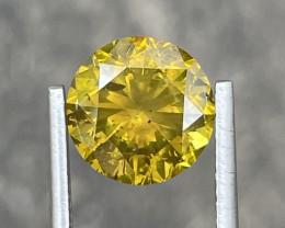 4.00 CT yellow Diamond Gemstones