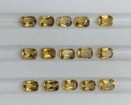 12.76 Carats Citrine  Gemstones