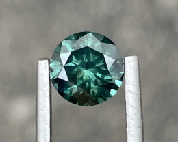 1.05 CT Diamond Gemstones Top green color