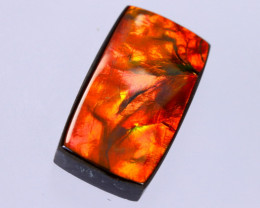 24x13mm,  21.32cts Natural Canadian Ammolite Stone / MA1776
