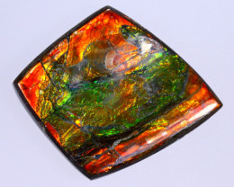30x24mm,  27.28cts Natural Canadian Ammolite Stone / MA1786
