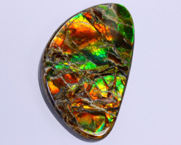 32x20mm,  31.43cts Natural Canadian Ammolite Stone / MA1791