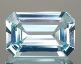 Well Cut Aquamarine Octagon 5.40cts