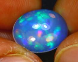 Welo Opal 3.06Ct Natural Ethiopian Play of Color Opal E1825/A57