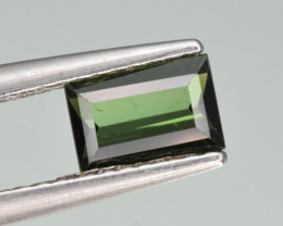 Natural Green Tourmaline 0.70  Cts