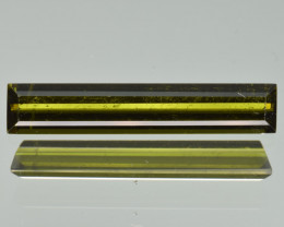 Natural Green Tourmaline 1.34  Cts