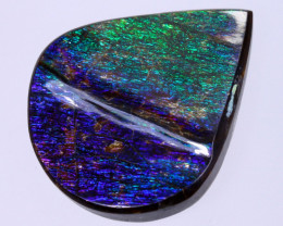 26x22mm,  18.50cts Natural Canadian Ammolite Stone / MA1805