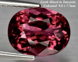 3.82ct VS Umbalite / Rhodolite Garnet - Purplish Pink UNHEATED 9.8 x 7.7mm
