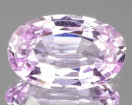 No Heat Pastel Pink  Sapphire 1.01cts