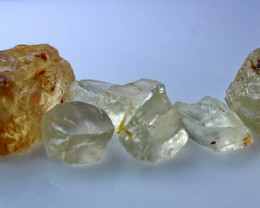 NR!!! 104.70 Cts Natural & Unheated~ Yellow Orthoclase Rough Lot