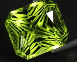 11.98Cts Genuine Natural Lemon Quartz Fashion Radiant Cut Loose Gemstone RE