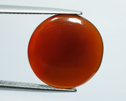 8.20 ct Natural Brown Agate  Round Cabochon  Gemstone