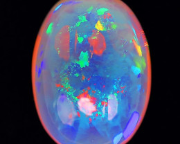42.30cts Jumbo Sized! Natural  Solid Crystal Welo Opal Terrific Play of