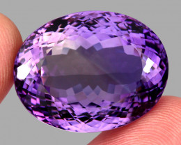 57.26 ct 100% Natural Earth Mined Unheated Purple Amethyst, Uruguay