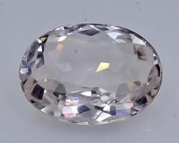 0.75 Crt Morganite Faceted Gemstone (Rk-2)