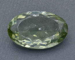18.27 Crt Prasiolite Green Amethyst Faceted Gemstone (Rk-2)